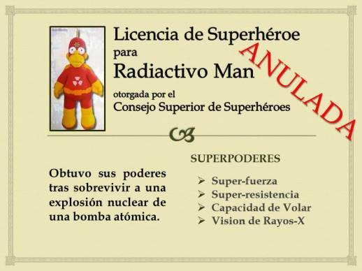 Licencia de Superheroe