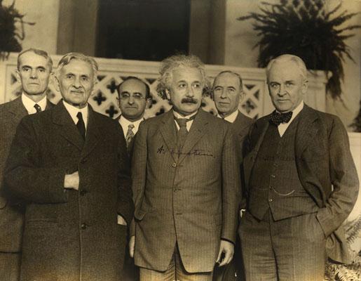 Einstein en la Ceremonia de los Premios Nobel del 1922