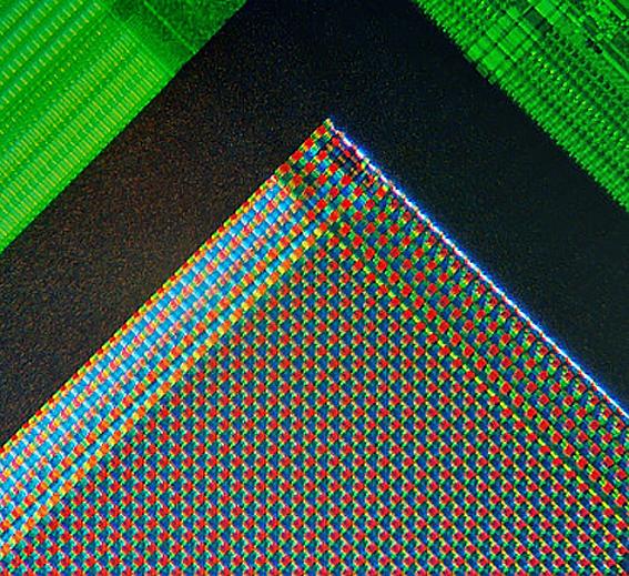 Micro fotografia sensor Webcam