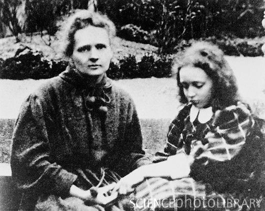 Marie e Irene Curie