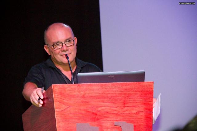 Juan Ignacio Pérez,  la persona sin la cual todo esto no hubiese sido posible. Foto de Alejandro Amador.