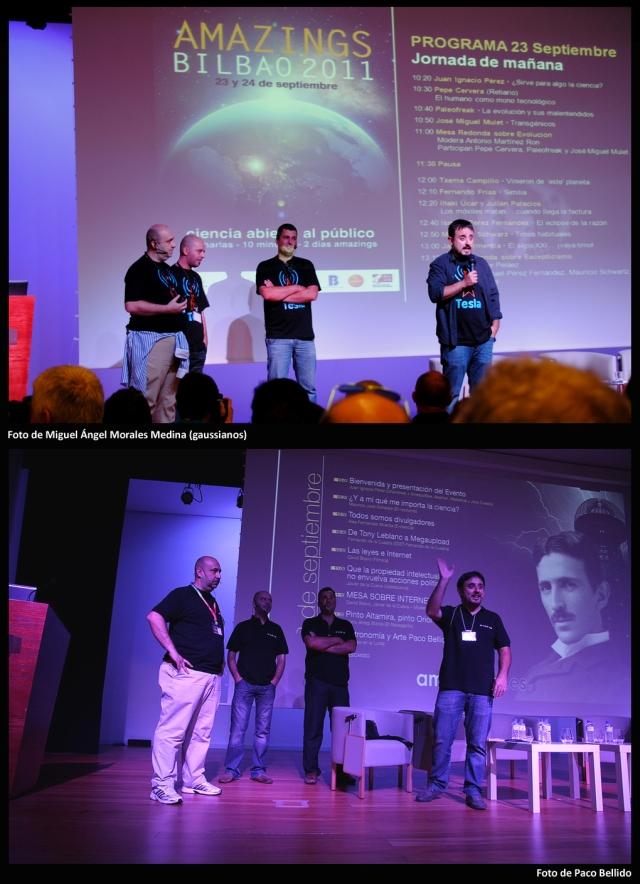 En 2011 y 2012, cuatro de los mejores hombres del mundo bloggero que formaron NAUKAS, presentaron el evento.