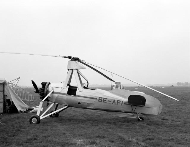 Leyenda: Autogiro C.30 de Juan de la Cierva