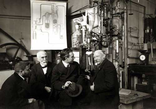 Ehrenfest, Lorentz, Bohr y Onnes