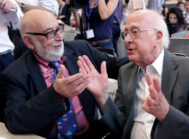 François Englert y Peter W. Higgs