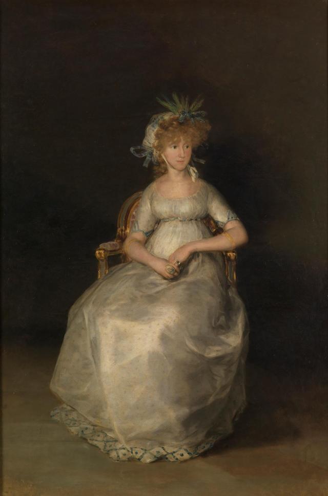 """""""La condesa de Chinchón"""" de Francisco de Goya"""