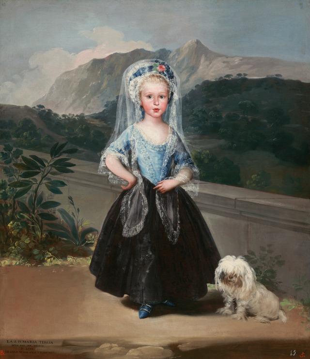 """""""María Teresa de Vallabriga y Rozas"""" de Francisco de Goya"""