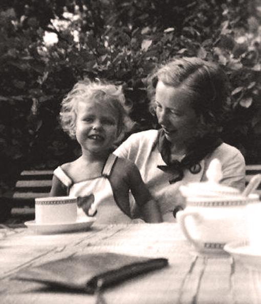 Maria con Maria Ann