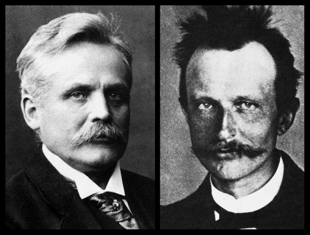 Wilhelm Wien y Max Planck