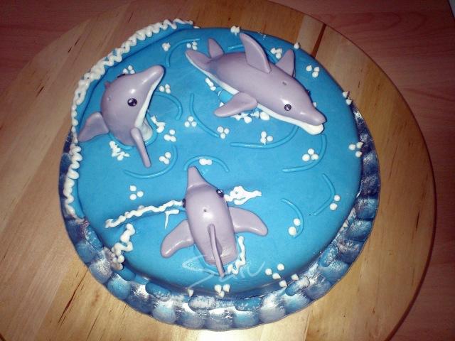tarta delfines-s