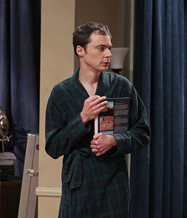 sheldon-in-a-robe-with-geology