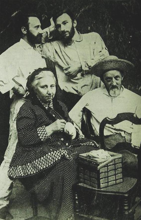 La familia Curie