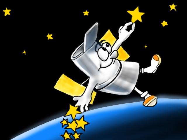 Hubble cartoon
