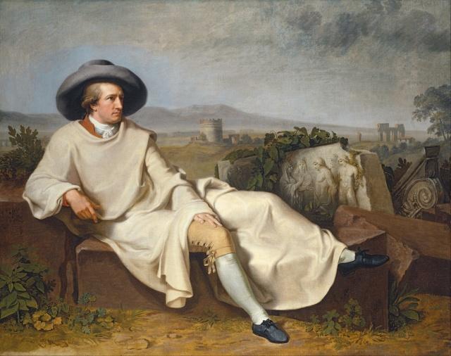 """""""Goethe in the Roman Campagna"""" por Johann Heinrich Wilhelm Tischbein"""