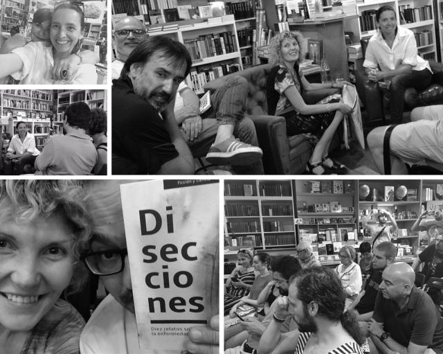 Fotografías de la presentación de «Disecciones» en Sevilla