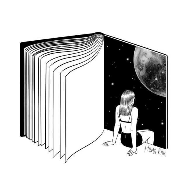 Henn Kim «Reading is Dreaming with Your Eyes Open»