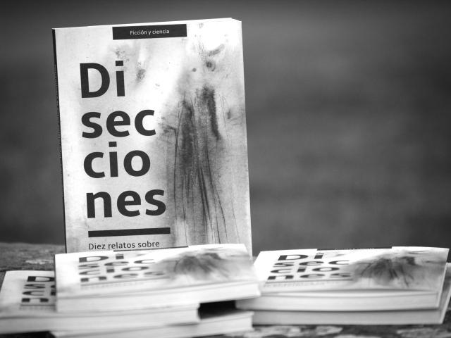 Fotografía artística del libro Disecciones