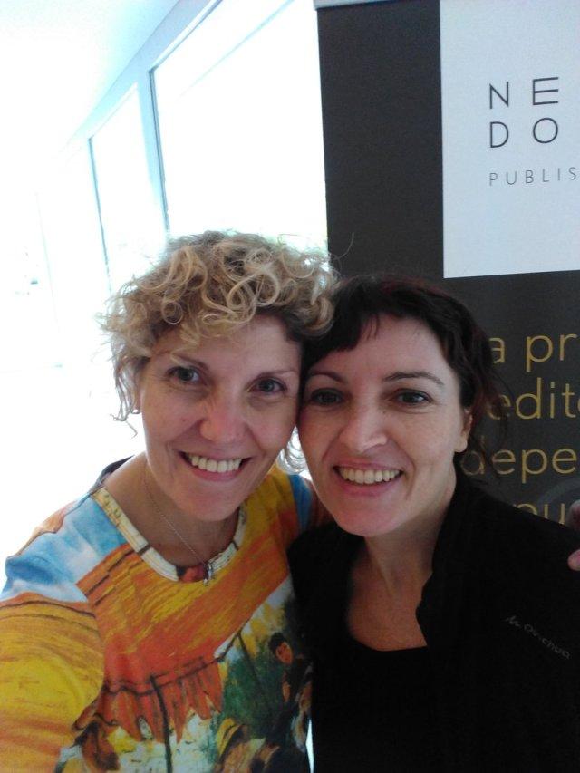 Con la gran Natalia Ruiz Zelmanovitch