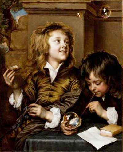 01_Adriaen_Hanneman_Two_Boys_Blowing_Bubbles